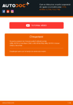 Schimbare Arc fata: pdf instrucțiuni pentru OPEL ASTRA