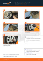 Fitting Caliper OPEL ASTRA G Hatchback (F48_, F08_) - step-by-step tutorial