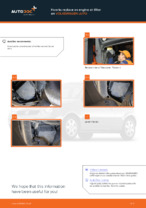 VW LUPO service manuals