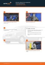 DIY VW change Shock Absorber rear and front - online manual pdf