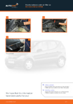 Workshop manual for MERCEDES-BENZ A-Class online