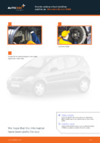 Step-by-step repair guide for MERCEDES-BENZ A-Class