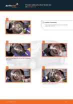 Сhanging Brake Discs rear and front on CITROËN C3: online tutorial