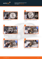 Step by step PDF-tutorial on Accessory Kit, disc brake pads Ford S Max wa6 replacement