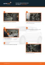 Free online instructions on how to renew Wheel bearing kit on SUZUKI SWIFT III (MZ, EZ)