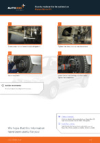 DIY NISSAN change Tie rod end - online manual pdf