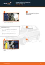 DIY NISSAN change Shock Absorber rear and front - online manual pdf