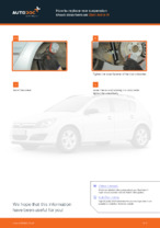 Replacing Shock Absorber OPEL ASTRA: free pdf