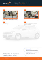 How to replace rear suspension springs on Opel Astra H
