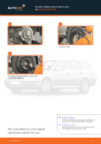 Online manual on changing Distributor Cap yourself on SKODA OCTAVIA (1U2)