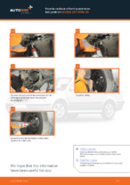 Auto mechanic's recommendations on replacing SKODA Skoda Octavia 1u 1.6 Control Arm