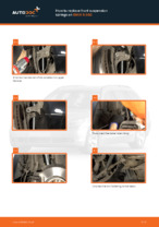 DIY BMW change Coil springs front left right - online manual pdf