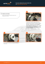 Online manual on changing Track control arm yourself on HYUNDAI SANTA FÉ II (CM)
