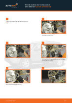 Step by step PDF-tutorial on Control Arm HYUNDAI SANTA FÉ II (CM) replacement