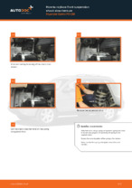 How to replace front suspension shock absorbers on Hyundai Santa FÉ CM