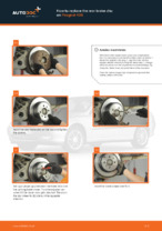 DIY PEUGEOT change Brake disc kit rear and front - online manual pdf