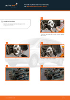 Changing Brake Discs MERCEDES-BENZ VIANO: workshop manual