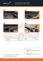 How to replace and adjust Air Filter MERCEDES-BENZ VIANO: pdf tutorial