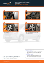 Fitting Stabilizer bar link MERCEDES-BENZ VIANO (W639) - step-by-step tutorial