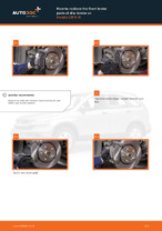 Step by step PDF-tutorial on Water Pump + Timing Belt Kit Opel Meriva x03 replacement