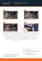 Step-by-step repair guide for Honda CR-V mk1