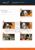 PDF replacement tutorial: Brake discs and rotors AUDI rear and front