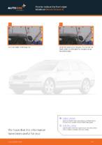 Step-by-step repair guide for SKODA OCTAVIA