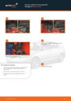 DIY manual on replacing Coil springs MAZDA 3 (BK)