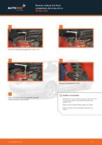Online manual on changing Wheel hub bearing yourself on MAZDA 3 (BK)