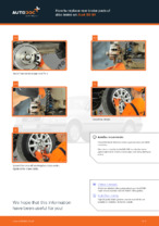 Changing Brake Pads AUDI 80: workshop manual