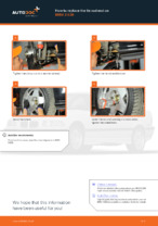 BMW 3 Compact (E36) change Brake Calipers rear and front: guide pdf
