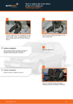 PDF replacement tutorial: Drum brake pads VW rear and front