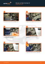 bak och fram Hjullager NISSAN MICRA II (K11) | PDF instruktioner för utbyte