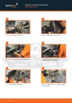 Gratis instruktioner online hur installerar man Hjullagersats SKODA OCTAVIA (1U2)