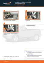 Gratis instruktioner online hur installerar man Länkarm hjulupphängning HYUNDAI SANTA FÉ II (CM)