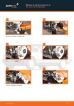 PDF guide för byta: Bromsok MERCEDES-BENZ 190 (W201) bak och fram