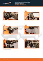 PDF guide för byta: Bärarm MERCEDES-BENZ bak och fram