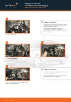 bak och fram Bromsbelägg MERCEDES-BENZ E-klass Sedan (W210) | PDF instruktioner för utbyte