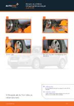 bak och fram Stabilisatorstag AUDI A3 | PDF instruktioner för utbyte