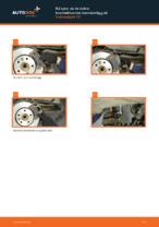 bak och fram Bromsbelägg VW PASSAT | PDF instruktioner för utbyte