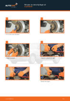 PDF guide för byta: Hjullagersats AUDI 80 Sedan (8C2, B4) bak och fram