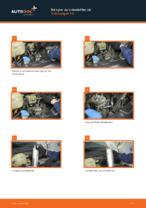 Gratis instruktioner online hur installerar man Bränslefilter VW TRANSPORTER V Platform/Chassis (7JD, 7JE, 7JL, 7JY, 7JZ, 7FD