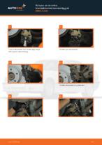 bak och fram Bromsbelägg BMW 3 Compact (E36) | PDF instruktioner för utbyte