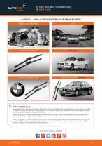 Så byter du främre vindrutetorkare på BMW 3 E36