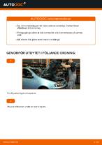 PDF guide för byta: Bromsklossar FIAT bak och fram