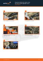 Montering Glødelampe Nummerskiltlys OPEL ASTRA G Hatchback (F48_, F08_) - steg-for-steg manualer
