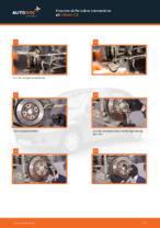 Hvordan skifte bakre bremseskive på Citroen C3