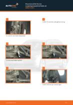 Hvordan skifte fremre suspensjonsavstiverfeste på BMW 5 E60