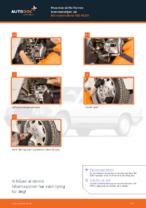 PDF med trinn for trinn-veiledning for bytte av Ford Ranger TKE Panser