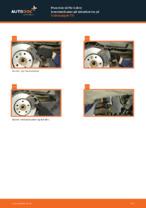 Bytte Bremsekloss bak og foran VW gjør-det-selv - manualer pdf på nett